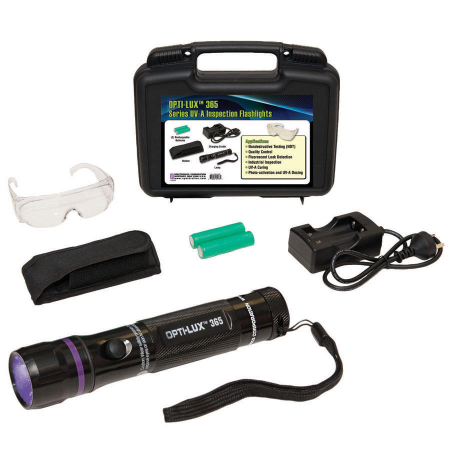 Olx 365 opti lux 365 uv a led inspection flashlight parker olx 365kit reheart Gallery